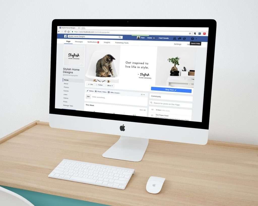 Content in sozialen Medien